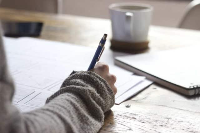 écrire lettre motivation